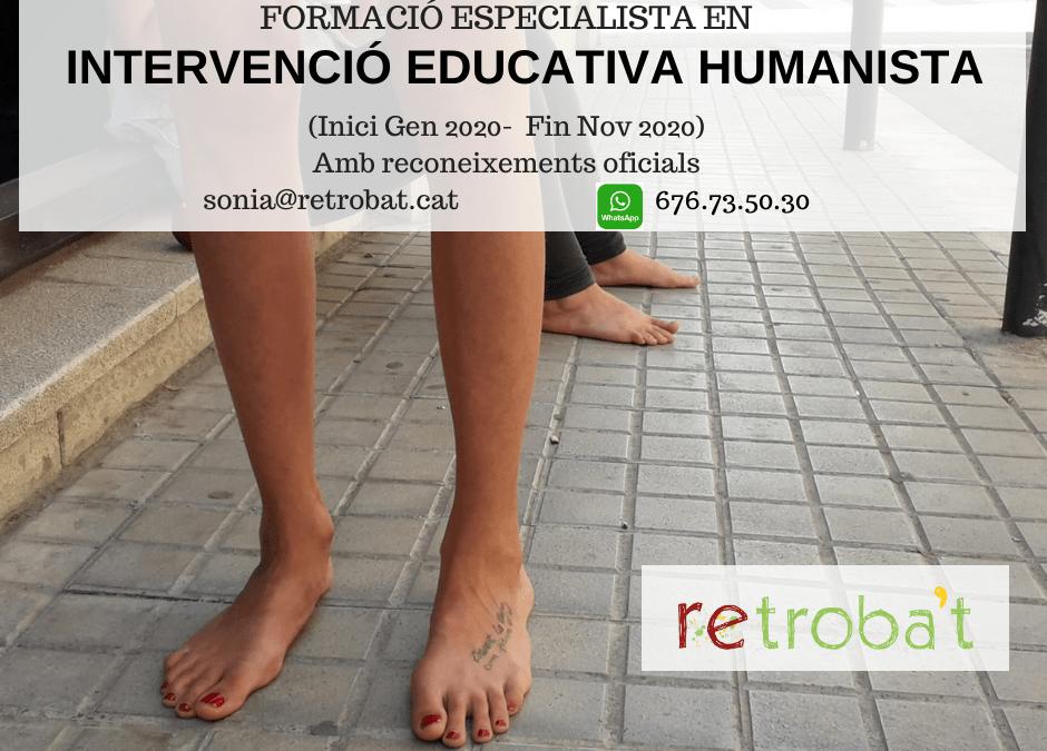 Tècnic/a Especialista en Intervenció Educativa Humanista